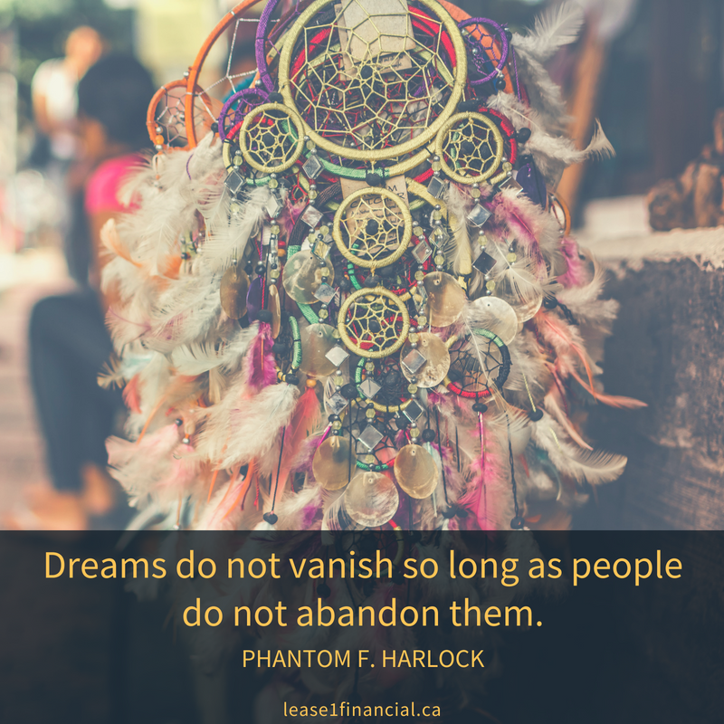Dreams do not vanish so long as people do not abandon them. Phantom F. Harlock