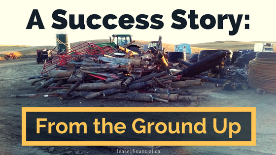 A Success Story: From The Ground Up