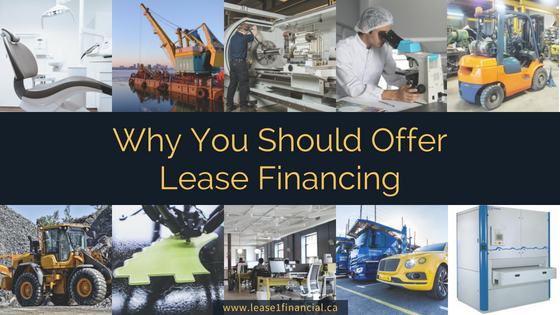 Why Your Business Should Offer Lease Financing | Lease 1 Financial