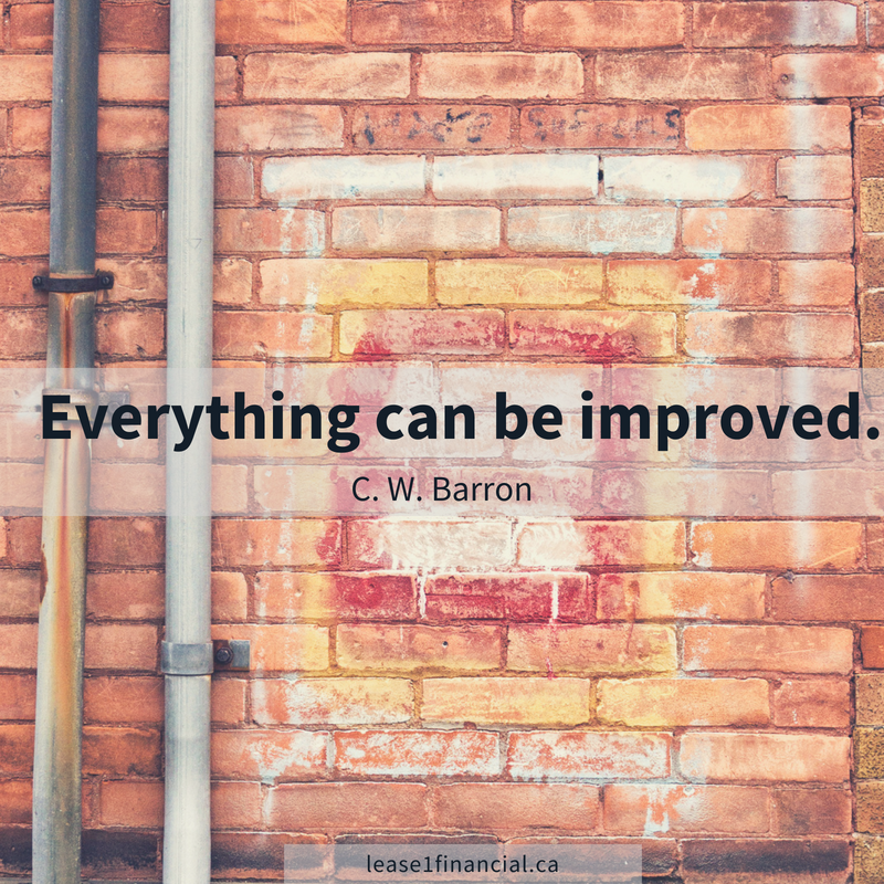 Everything Can Be Improved